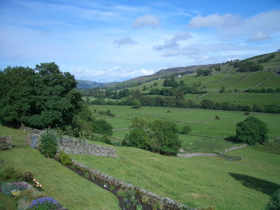 View from Low Row towards Reeth
